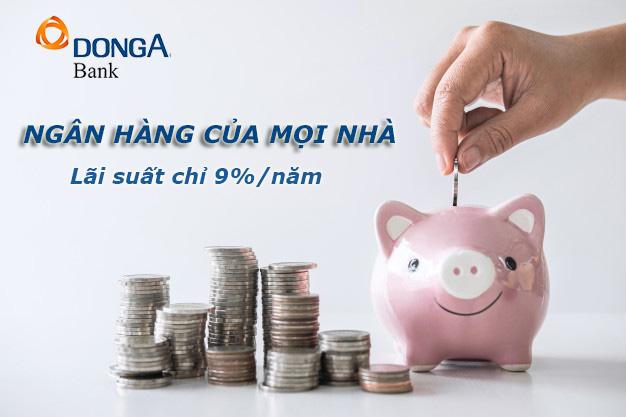 Hướng dẫn vay tiền ngân hàng Đông Á dễ nhất