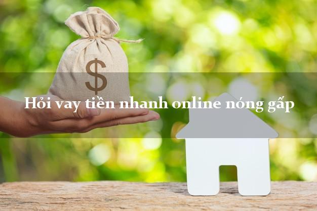 Hỏi vay tiền nhanh online nóng gấp bằng CMND/CCCD