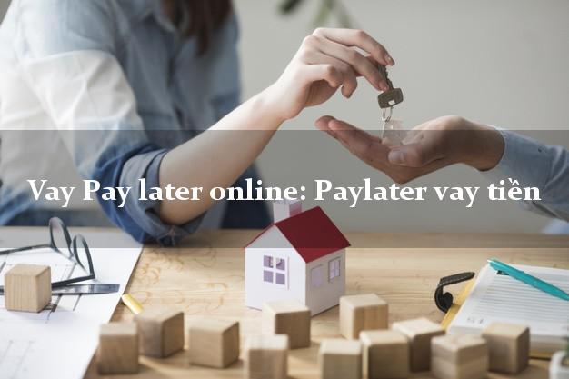 Vay Pay later online: Paylater vay tiền là gì? Điều kiện vay